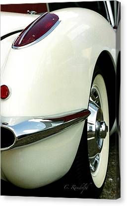 Canvas Print featuring the photograph Sex On Wheels by Cheri Randolph
