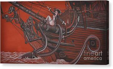 Sexy Pirate Canvas Print