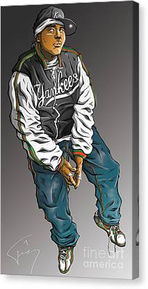 Shade Sheist Canvas Print by Tuan HollaBack