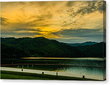 Shades Of A Good Day Canvas Print by Ken Beatty