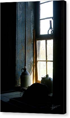 Canvas Print featuring the photograph Shades Of Blue by Vicki Pelham