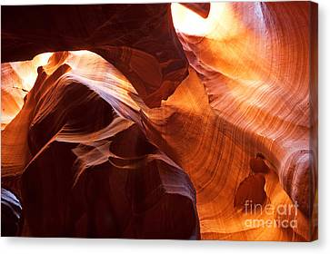 Canvas Print featuring the photograph Shades Of Reflections by Bob and Nancy Kendrick