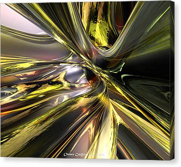 Shadow Abstract Serenity Fx  Canvas Print by G Adam Orosco