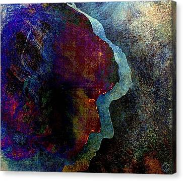 Shadows Of Me Canvas Print by Gun Legler
