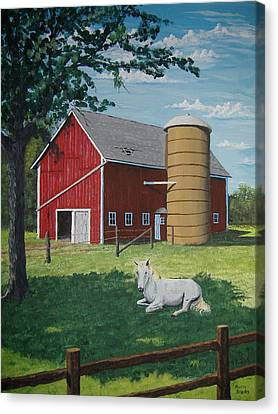 Shady Rest Canvas Print by Norm Starks