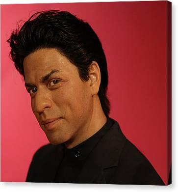 Shahrukh Khan - Shah Rukh Khan - Baadshah Of Bollywood - King Khan - The King Of Bollywood  Canvas Print by Lee Dos Santos