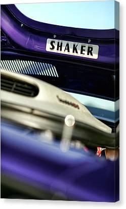 Shaker Hood Canvas Print by Gordon Dean II