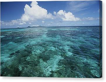Shallow Blue Water Stretches Canvas Print by Michael Melford