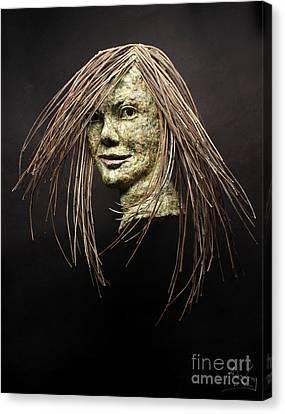 Shana Canvas Print by Adam Long