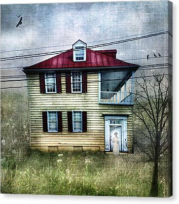 She Waits Canvas Print by Laura George