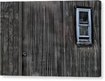 Shed Canvas Print by Zawhaus Photography