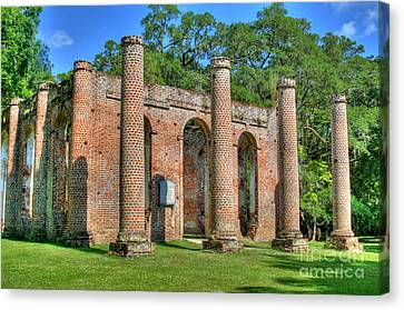 Sheldon Church 3 Canvas Print