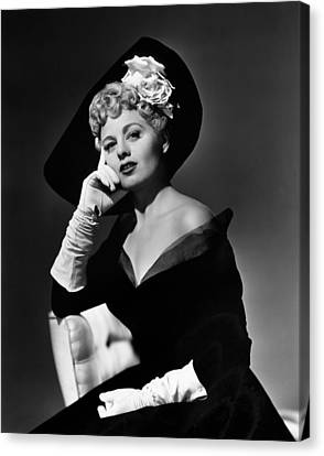 Shelley Winters, 1949 Canvas Print by Everett