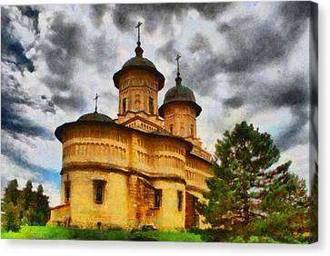 Shelter From The Coming Storm Canvas Print by Jeff Kolker
