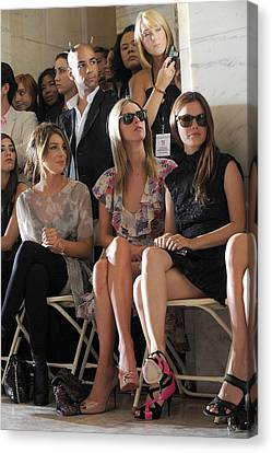 Nicky Hilton Canvas Print - Shenae Grimes, Nicky Hilton, Rachel by Everett