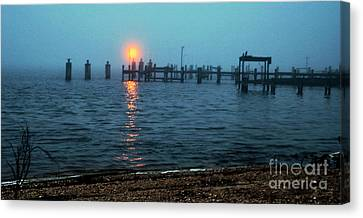 Canvas Print featuring the photograph Shhh Listen by Clayton Bruster