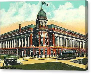 Shibe Park Baseball Stadium In Philadelphia Pa Canvas Print