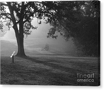 Shiloh In The Fog Canvas Print by David Bearden