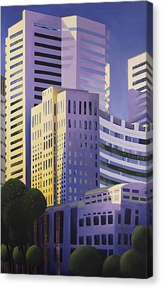 Shining Towers Canvas Print by Duane Gordon