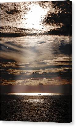 Ship  Canvas Print by Micael  Carlsson