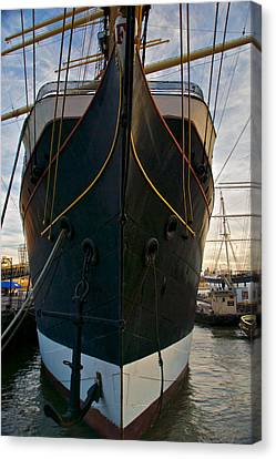 Ship Canvas Print by Mike Horvath