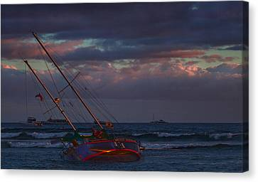 Shipwrecked Canvas Print by James Roemmling
