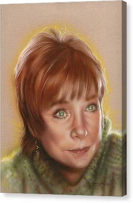 Shirley Canvas Print by Tim  Scoggins