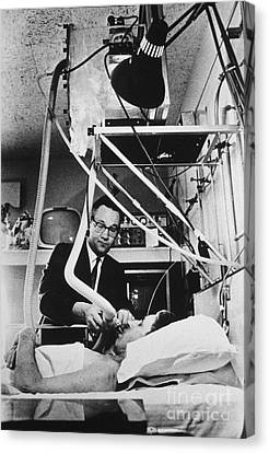 Psychiatric Canvas Print - Shock Unit, 1970 by Science Source