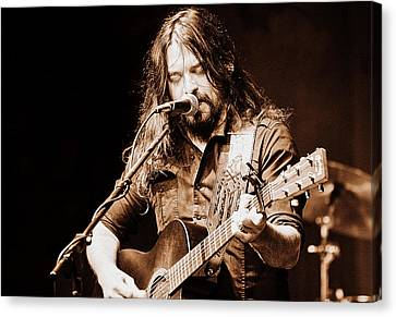 Shooter Jennings - Blurring The Lines Canvas Print