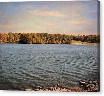 Shoreline Canvas Print by Jai Johnson