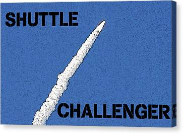 Shuttle Challenger  Canvas Print by David Lee Thompson