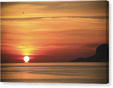 Sicilian Sunrise Canvas Print