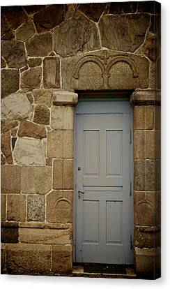 Side Door Canvas Print by Odd Jeppesen