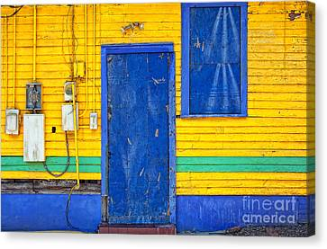 Side Of Rita's Bar And Soul Food Canvas Print