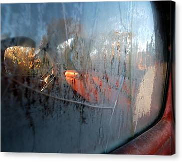 Side View Into The Past Canvas Print by Steven Milner