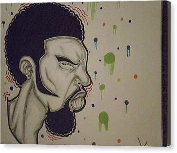 Side View Canvas Print by Mr Ambition