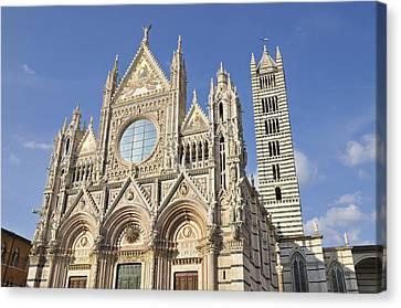 Siena Cathedral - Duomo Santa Maria Assunta Canvas Print by Matthias Hauser
