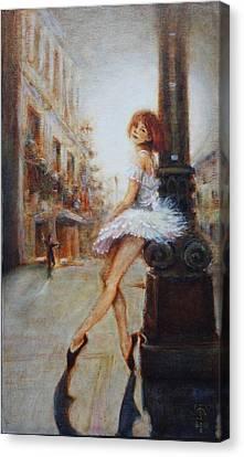 Sienna Canvas Print by Caroline Anne Du Toit