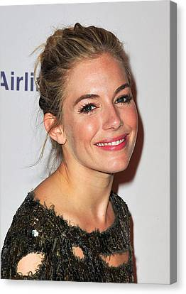 Opening Night Canvas Print - Sienna Miller In Attendance For After by Everett