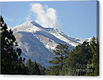 Sierra Blanca Clouds 3 Canvas Print
