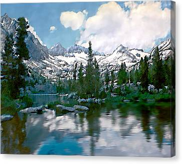 Sierra Canvas Print by Kurt Van Wagner