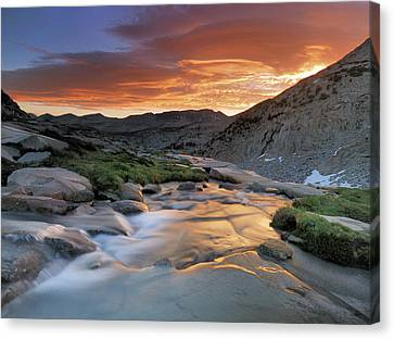 Sierra Wave Over Yosemite National Park High Count Canvas Print