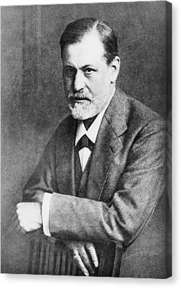 Sigmund Freud 1856-1939, At Age 45 Canvas Print by Everett