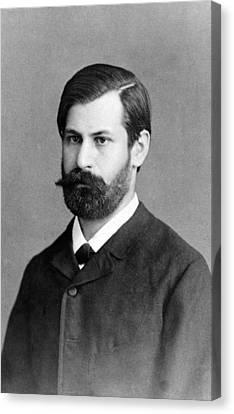 Sigmund Freud 1856-1939, In 1885, When Canvas Print by Everett