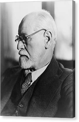 Sigmund Freud 1856-1939, In The 1930s Canvas Print by Everett