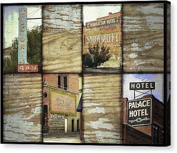 Signs Of Salida Canvas Print by Ann Powell