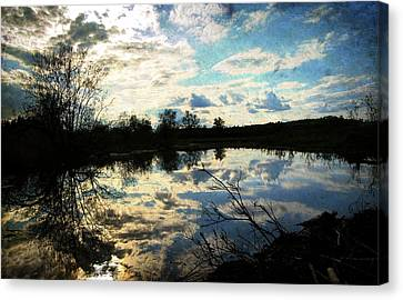 Silence Of Worms Canvas Print by Jerry Cordeiro