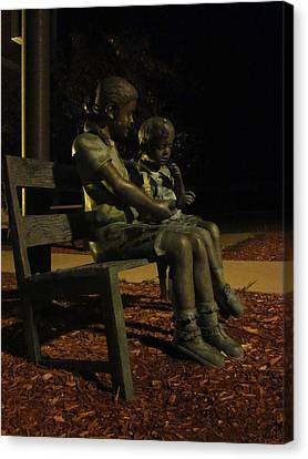 Silent Children Canvas Print by Guy Ricketts