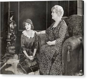 Silent Film Still: Women Canvas Print by Granger