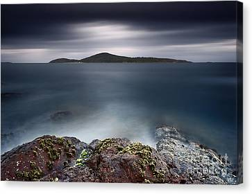 Silent Shores Canvas Print by Michael Howard